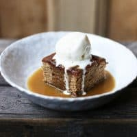 The Baileys in this Sticky Toffee Baileys Pudding is the best way to reinvent the British pub dessert classic. Baileys is baked into the sponge and poured liberally into the toffee sauce for heavenly reasons. This gluten-free version also goes one step further by using teff flour instead of wheat flour adding a further complexity of flavour.