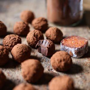 'Nduja Chocolate Truffles
