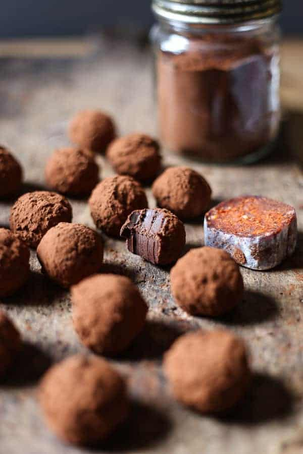 'Nduja Chocolate Truffles are a little bit special. The hint of the smoky chilli in the 'nduja makes these truffles incredibly complex and totally moreish.