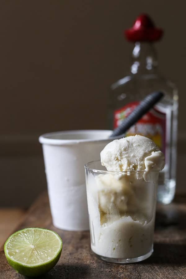 This Tequila Lime Ice Cream is refreshingly light and zesty. It's foolproof with just five ingredients and minimum effort.