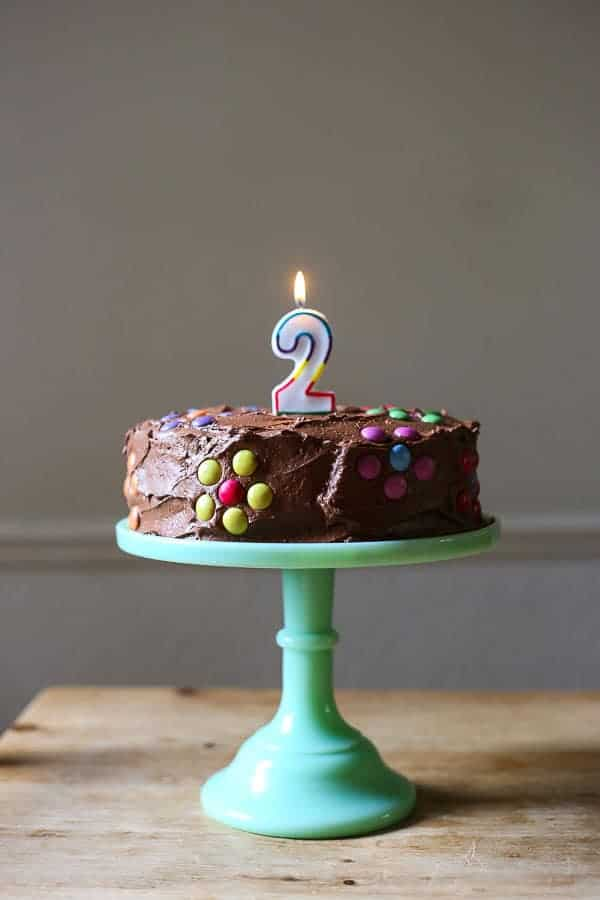 Fine Best Gluten Free Birthday Cake From The Larder Personalised Birthday Cards Beptaeletsinfo