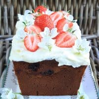 Strawberry Honey Cake