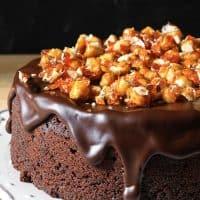 Decadent Chocolate Hazelnut Cake {gluten-free}