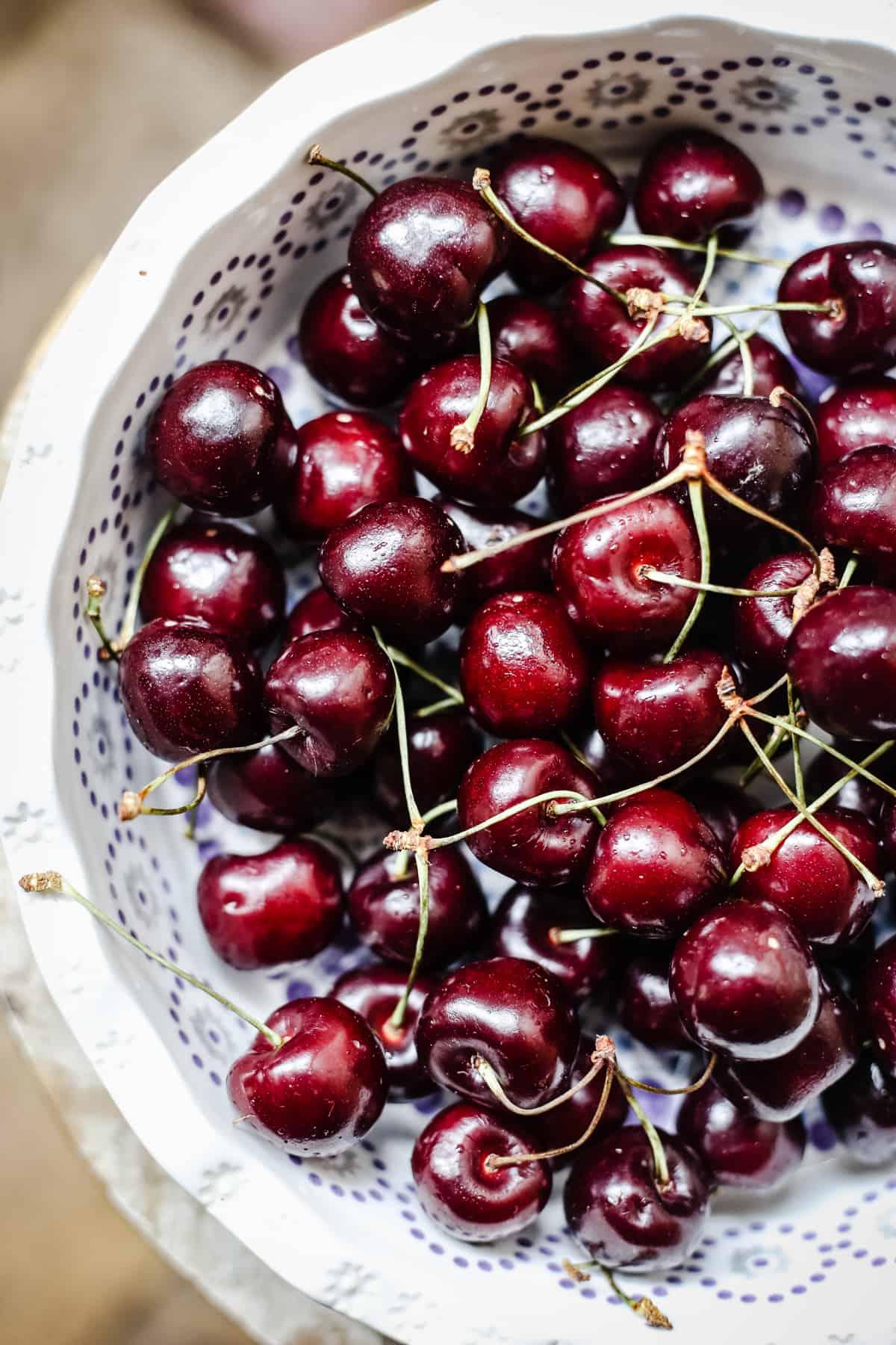 Coconut Cherry Clafoutis {gluten-free, dairy-free}