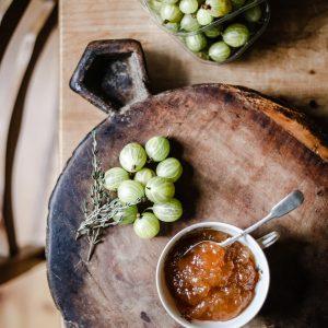 Gooseberry Thyme Jam