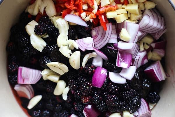 Blackberry Hoisin Sauce