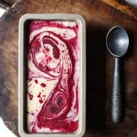 Blackberry Ripple Ice Cream