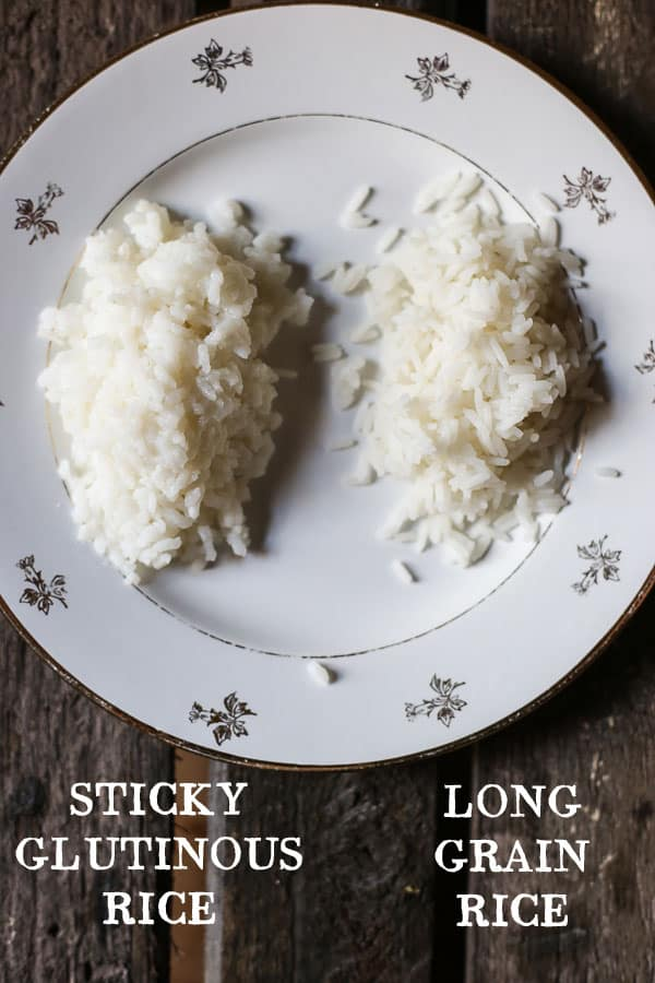 Sticky vs Long Grain Rice