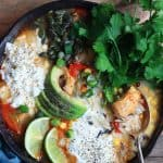 Chicken Fajita Wild Rice Soup