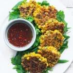 Coriander Sweetcorn Fritters
