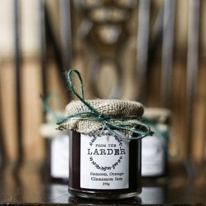 Damson Orange Cinnamon Jam