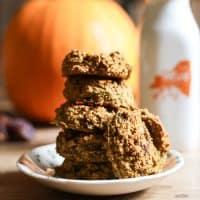 Spiced Pumpkin Date Cookies {gluten-free}