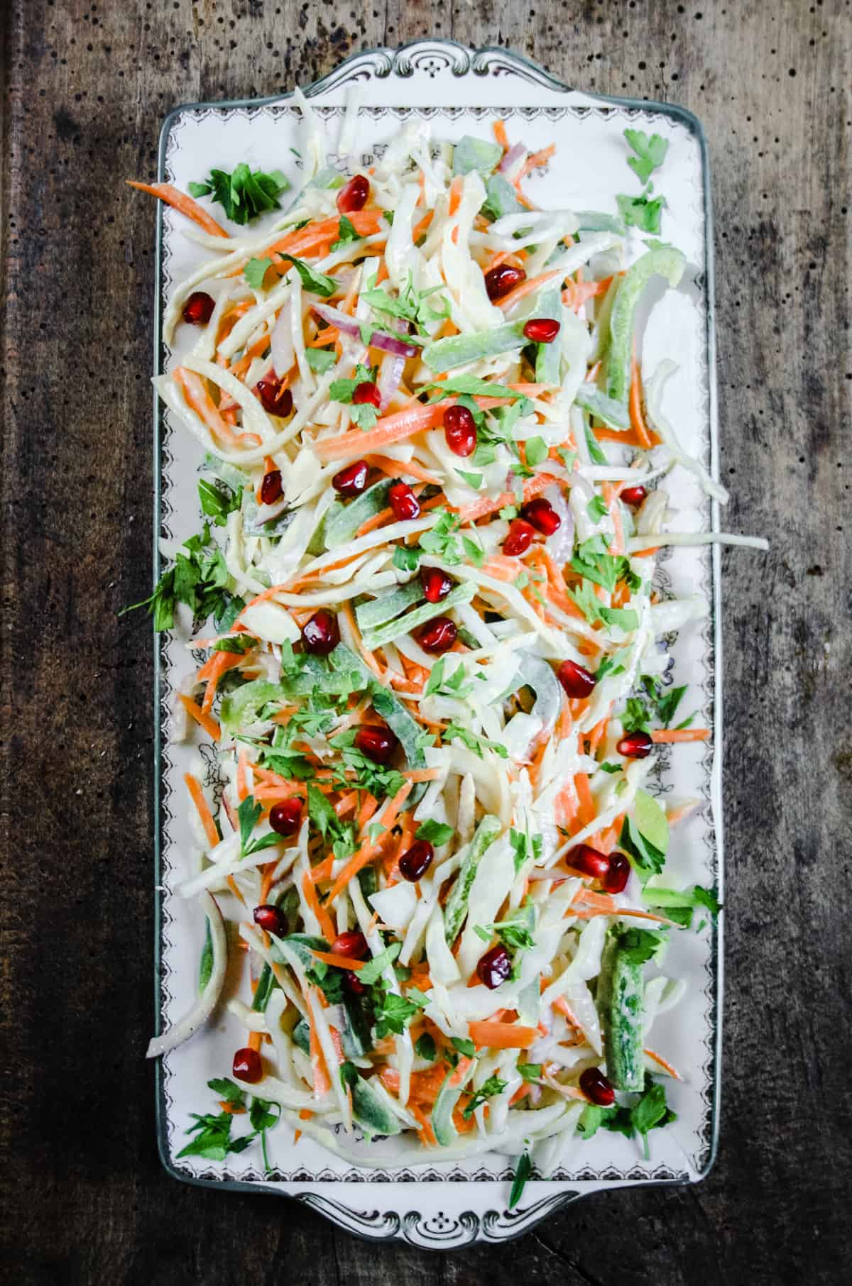 The Best Homemade Coleslaw