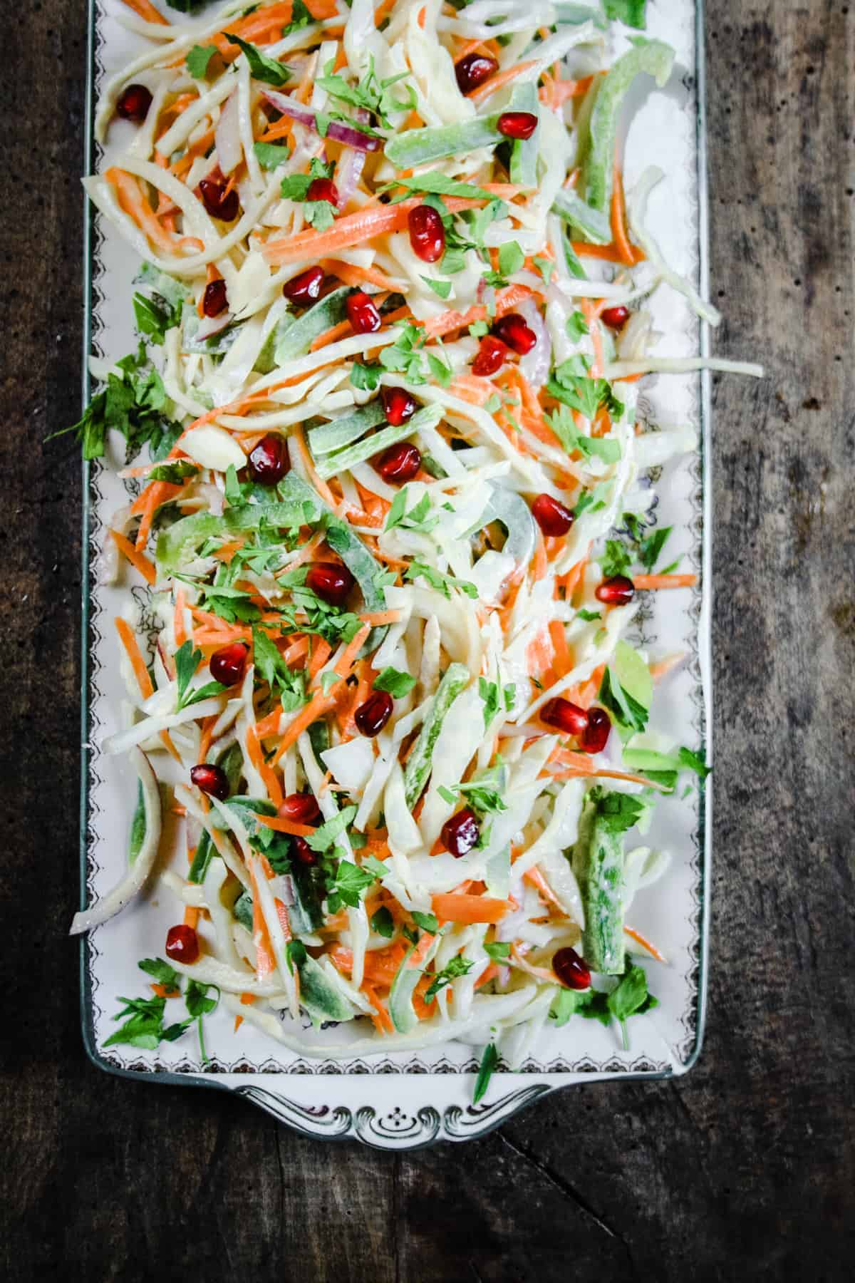 The Best Homemade Coleslaw