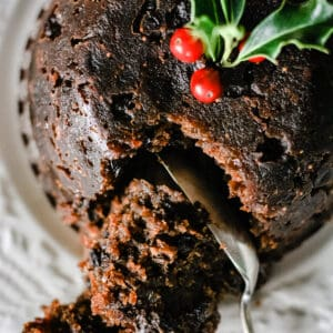 Traditional Gluten-Free Christmas Pudding