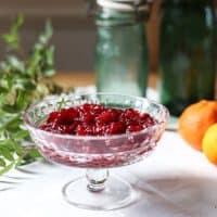 Cranberry Clementine Sauce