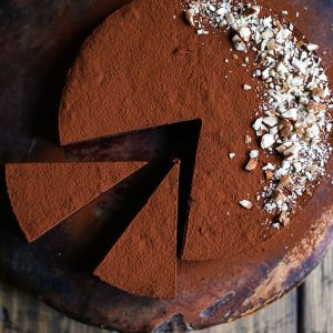 Sweet Potato Chocolate Truffle Torte