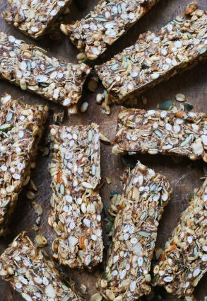 Best Granola Bars (gluten-free, vegan, refined sugar-free)
