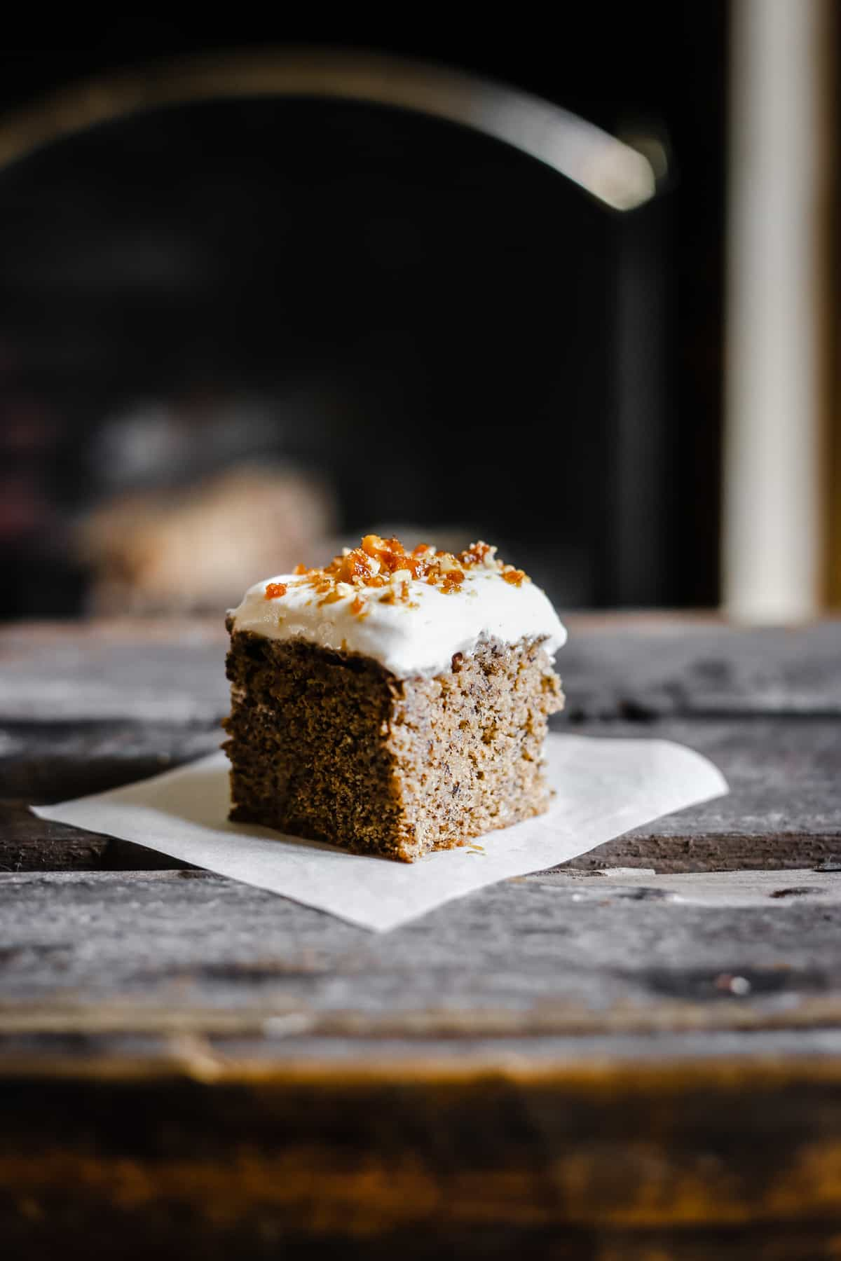 Coffee and Walnut Tres Leches Cake {gluten-free}