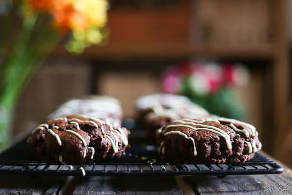 Easter Spiced Chocolate Chip Scones {gluten-free}