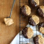 Peanut Butter Oaty Chocolate Cookies {gluten-free, dairy-free}