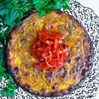 Sweet Potato Feta Tortilla
