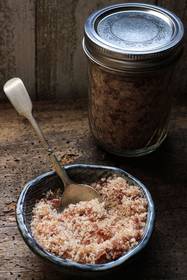 Bacon Salt is the ultimate condiment which can be sprinkled on anything and everything