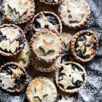 Gluten-Free Mince Pies on a tray