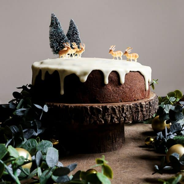 Cheat's Gluten-Free Christmas Cake