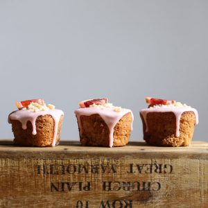 Blood Orange Buckwheat Hazelnut Friands {gluten-free}
