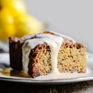 Lemon and Ginger Cake {gluten-free}