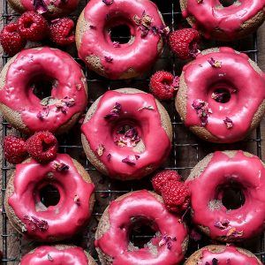 overview of Raspberry Doughnuts