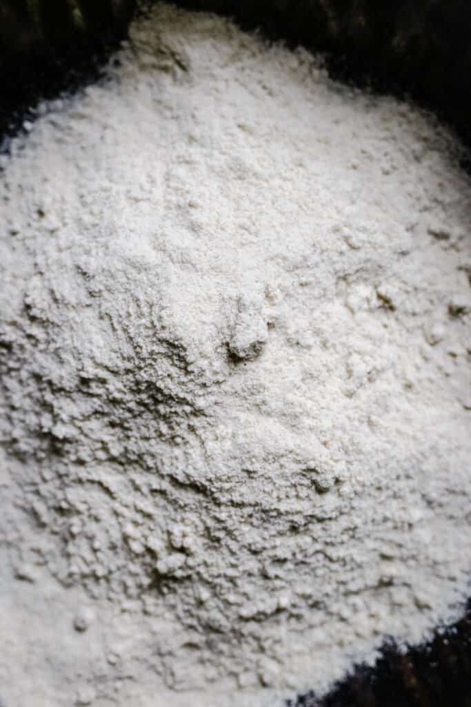 close up of Sorghum Flour