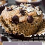 pin image of Banana Chocolate Chip Muffin