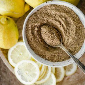 Homemade Lemon Powder