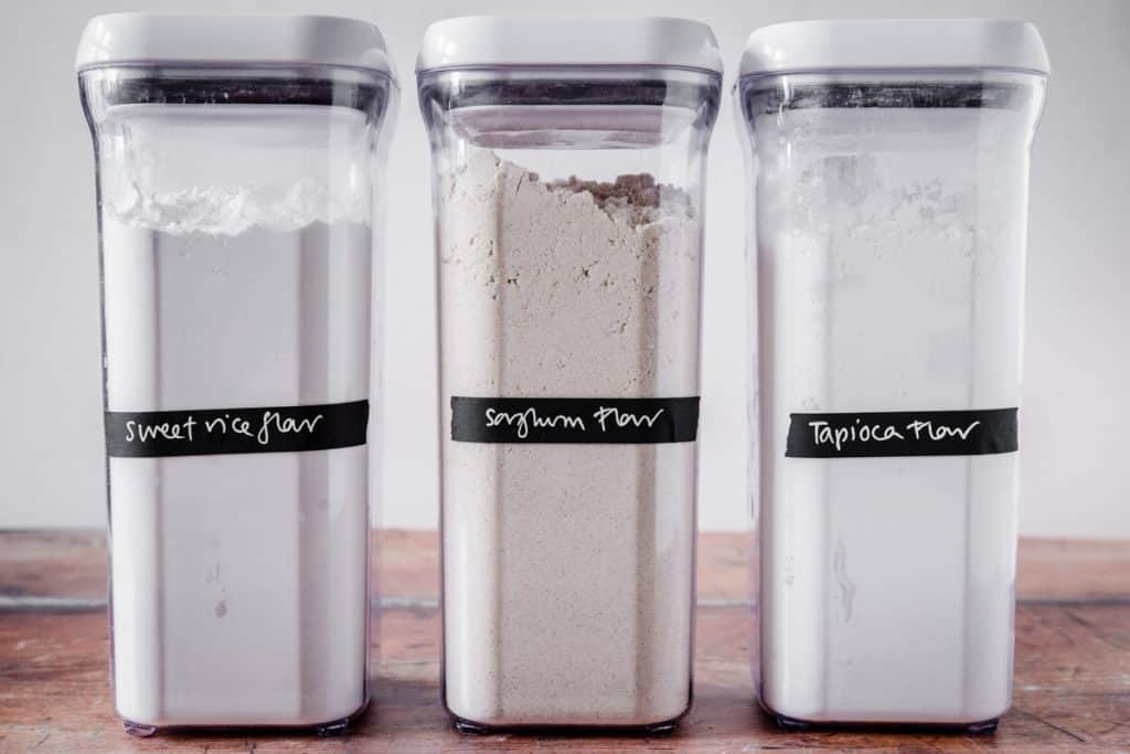 flours for gluten-free pastry
