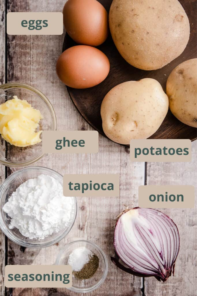 ingredients for hash browns