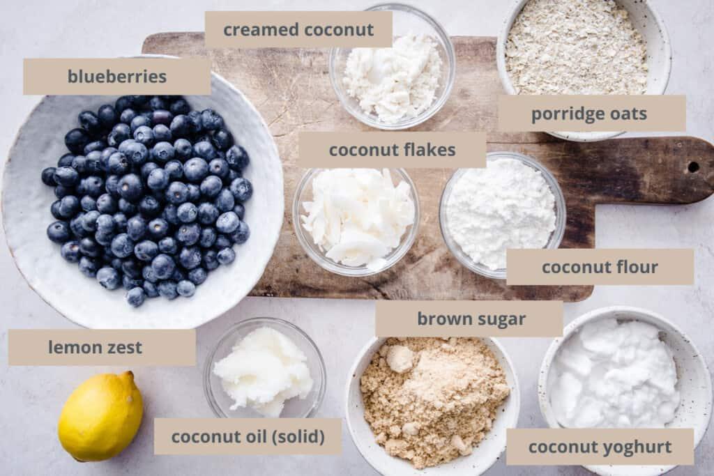 coconut crisp ingredients