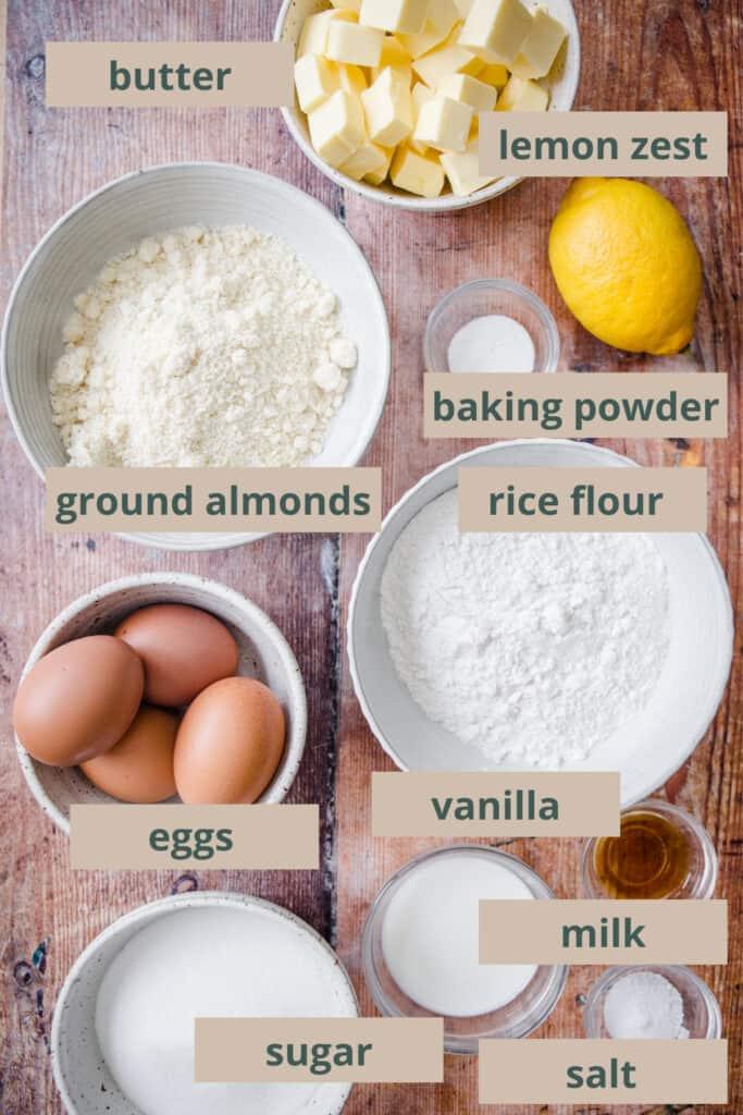 madeira cake ingredients
