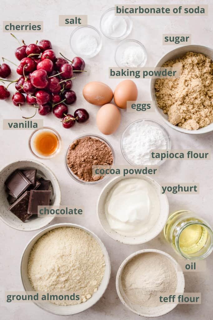 choc cherry cake ingredients